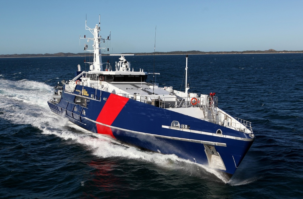 Cape Class Patrol Boat - NQ Hydraulics