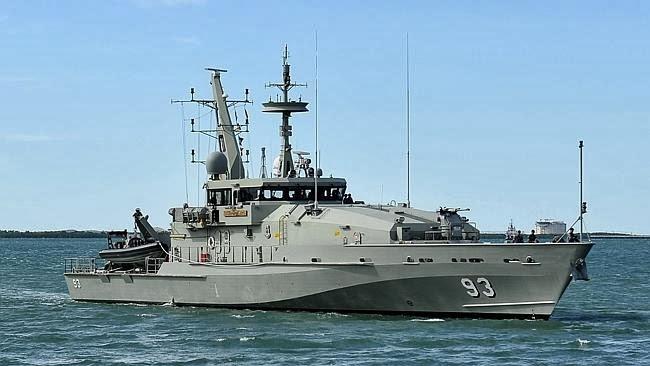 HMAS-Childers-Armidale-class-patrol-boat TNQ Hydraulics Cairns
