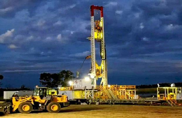 drill rig hydraulics
