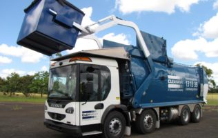 Cleanaway Front Lift Hydraulics